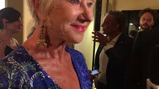 Helen Mirren - Premio Apollonio 2018