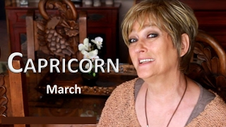 CAPRICORN March Horoscope - 2017 Astrology. Important