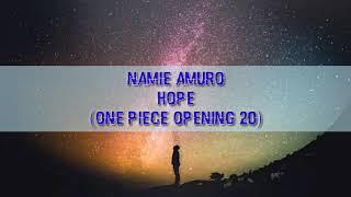Namie Amuro Hope Opening One Piece 20