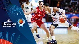 United States v Serbia - Full Game - FIBA U17 Basketball World Cup 2018