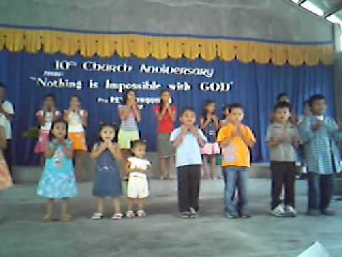 Welcome To The Family Mbbc 10th Church Anniv.kids video