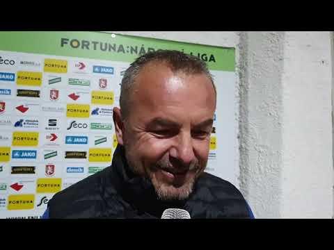 Trenér Frťala hodnotí výhru nad Vítkovicemi