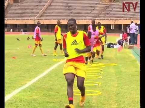 Cranes get ready for friendly match against Gambia
