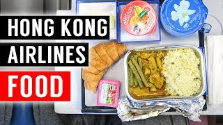 Hong Kong Airlines Economy Food ► from BKK to HKG