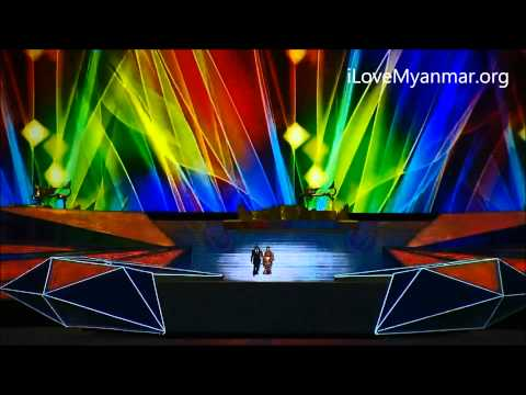 Sea Game 2013 - Sung Tin Par & Htoo E Linn