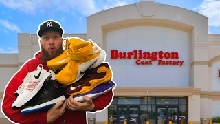 SEARCHING for LIMITED SNEAKERS at BURLINGTON COAT FACTORY!!!