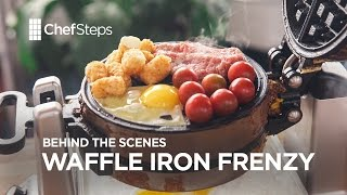 ChefSteps Behind the Scenes: Waffle Iron Frenzy