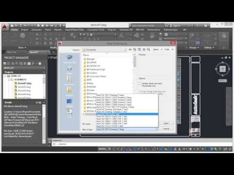 AutoCAD Electrical 2015 Tutorial | DWG Filetypes
