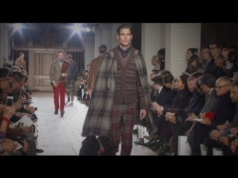 عرضه آخرین مدل های پوشاک مردانه در لندن