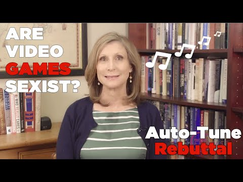 ♫ Are Video Games Sexist? ♫ Auto-tune Rebuttal | Song A Day #2088 video