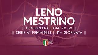 Serie A1F [11^]: Leno - Mestrino 17-23