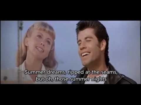 John Travolta - Summer Nights