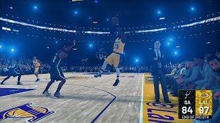 Spurs vs Lakers 12.5.18 #NBA2K19 #PS4 #2KALLDAY