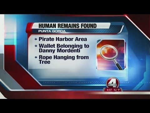 Human remains found in Charlotte County tree
