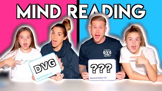 WE READ EACH OTHER'S MINDS In TWIN Telepathy Challenge