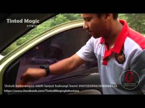 Tinted Magic (Tinted Blh Ubah) Pemasangan - Globe Store