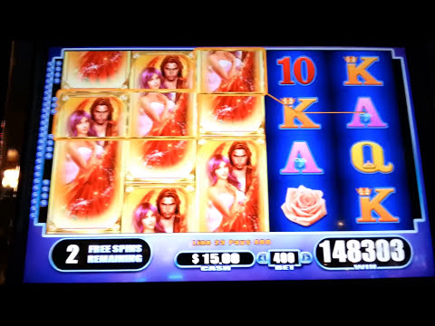 Fallen Angels JACKPOT Handpay Max Bet Bonus + Retriggers WMS Slot Machine