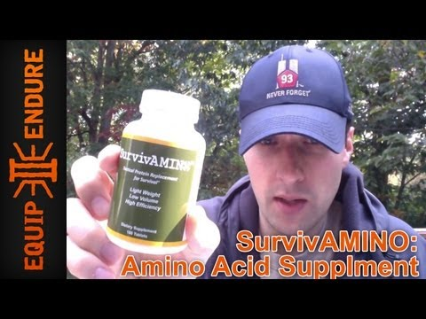 SurvivAMINO Survival Protein Replacement by Equip 2 Endure