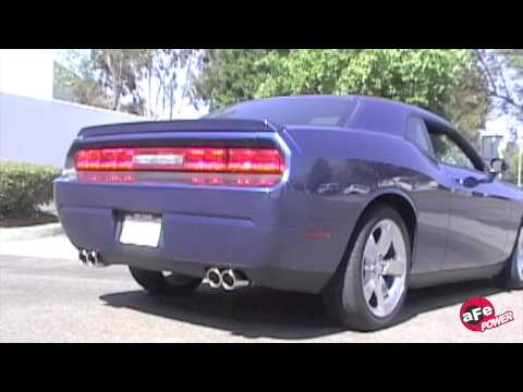 aFe 2009 Dodge Challenger Exhaust Dyno