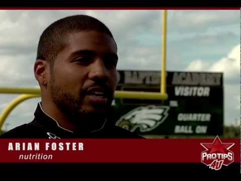 Arian Foster interview - What