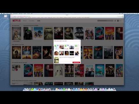 Présentation de la version française de Netflix