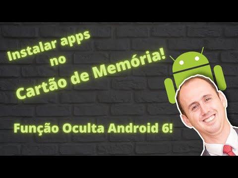 Instalar apps no cartão de memória. Função oculta Android 6.0