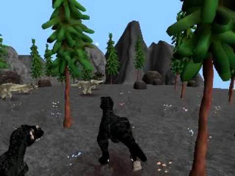 Spore dinosaur planet t-rex hunt