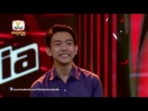 The Voice Cambodia - Keurn Norphea Ley -  When i was your man - 31 Aug 2014