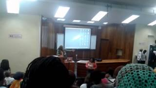 Walter Rodney Lecture 2014 - Dr. K'nife (Part III)