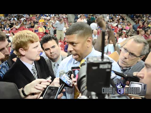 Mayor Kevin Johnson on his Las Vegas meeting with George Maloof
