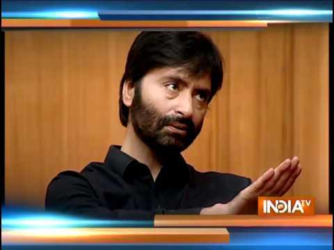 Rajat Sharma grills Yasin Malik in Aap Ki Adalat