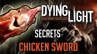 Dying Light Secret Weapon | How To Get Experimental Chicken on a Stick (The Following)