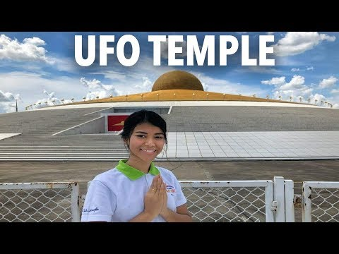 UNBELIEVABLE PLACES THAT REALLY EXIST - The Most Mysterious UFO Temple Wat Phra Dhammakaya Thailand