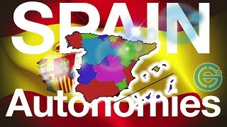 Autonomous regions of SPAIN explained (Geography Now)