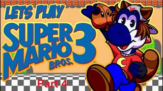 Let's Play Super Mario All-Stars (SNES) Super Mario Bros. 3 Part 4