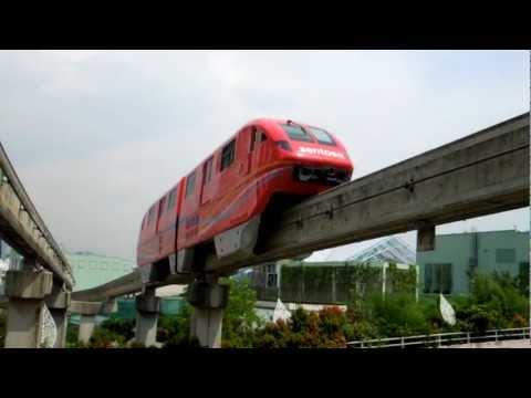 Sentosa Express, Singapore Monorail - Szingapúri vasút