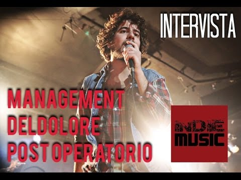 Management Del Dolore Post Operatorio @ Blackout Roma 22/05/2015  Intervista Indie Music