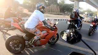 chasing a LOUD Ducati PANIGALE V4