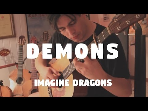 """Imagine Dragons """"Demons"""" on Fingerstyle by Fabio Lima"""