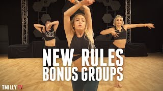 Dua Lipa - New Rules | Bonus Groups |  Brian Friedman Choreography | #TMillyTV
