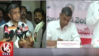 Lok Satta Leader Jaya Prakash Narayana Fires On TRS Govt Over Panchayat Elections