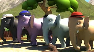 Ek Mota Hathi Hindi Rhyme   Poems In Hindi   एक मोटा हाथी   Kids TV India   Hindi Nursery Rhymes