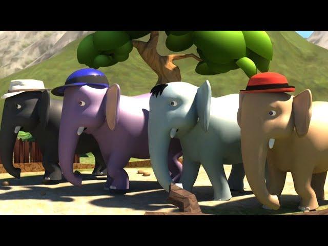 Ek Mota Hathi Hindi Rhyme | Poems In Hindi | एक मोटा हाथी | Kids TV India | Hindi Nursery Rhymes thumbnail