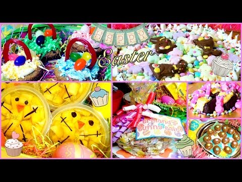 DIY Easter Treats & Snack Ideas!