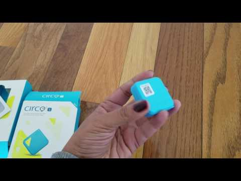 Circo Mini portable real time GPS tracker for your children,elders,pets,item finder phone finder