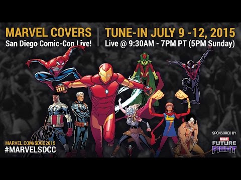 Marvel LIVE! at San Diego Comic-Con 2015- Day 2