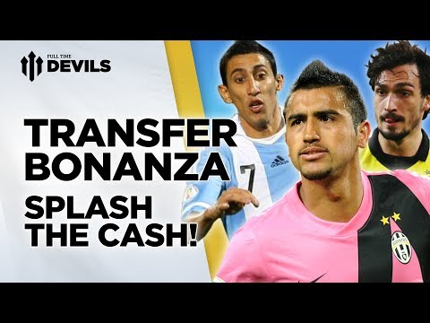 Splash The Cash! | Manchester United Transfer News Roundup