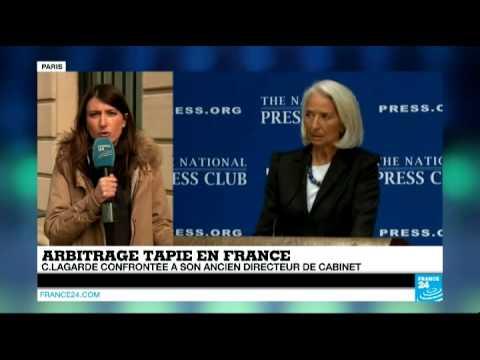 Confrontation Lagarde-Richard - l'affaire de l'arbitrage va-t-elle connaitre un rebondissement ?
