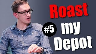 Christophs Aktienkurs zeigt sein Portfolio bei Roast my Depot #5 - Mission Money kommentiert