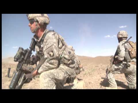 Gunshot to the Head - Army Pathfinders Swoop to Afghanistan/Pakistan Border and Help - HD